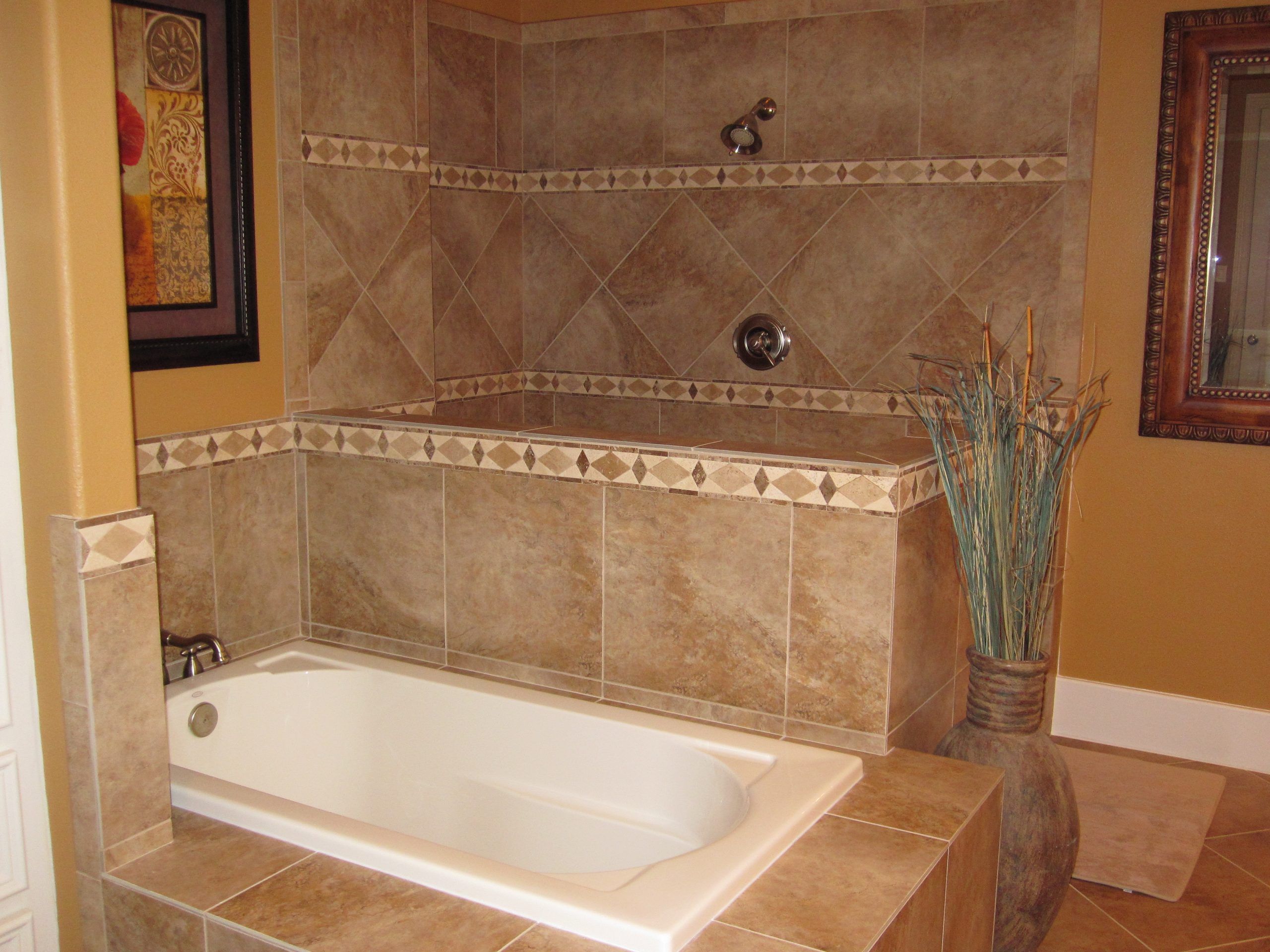 gorgeous bathroom and shower combo