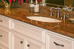 granite bathroom vanities