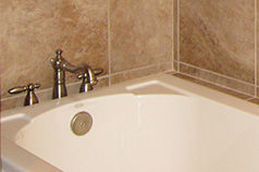 Great finishes on our bathroom