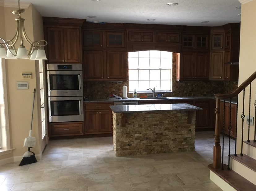 Kitchen remodeling project in Texas